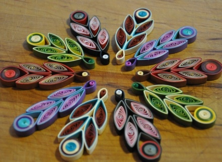 How To Quill - Circle Drop Paper Earring PDF Tutorial