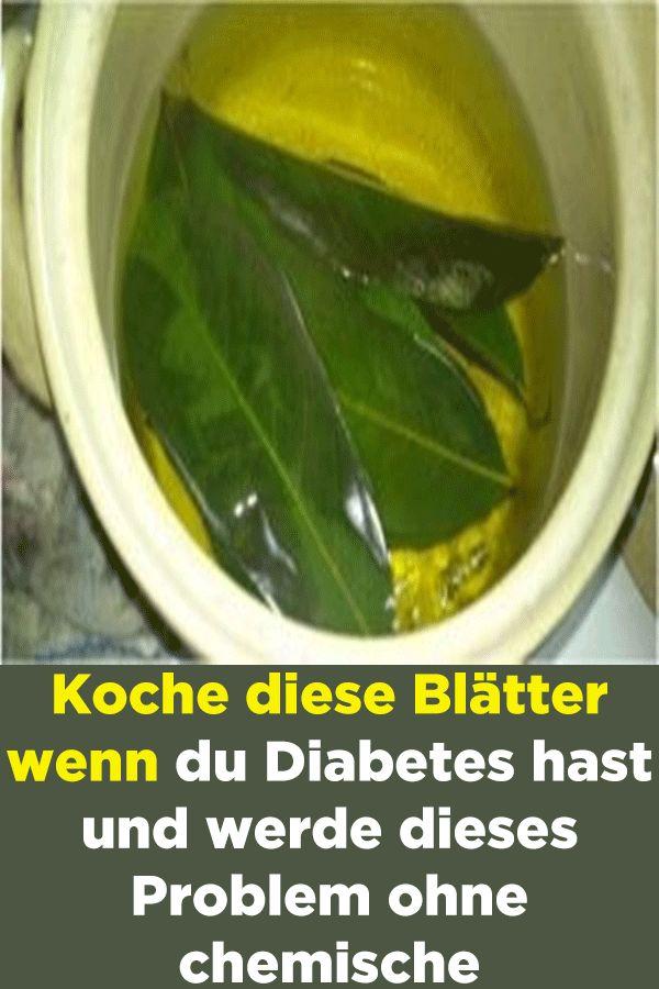 Koche diese Blätter wenn du Diabetes hast und werde dieses Problem ohne chemisc… – Gesundheit & Fitness