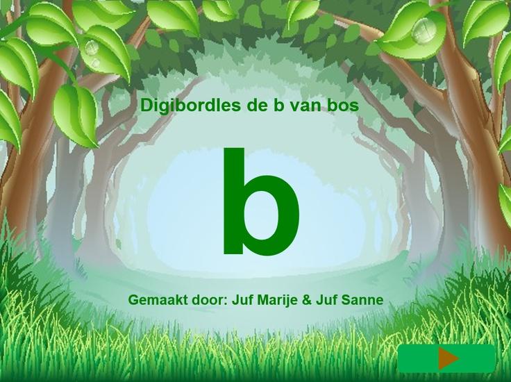 letter b van bos
