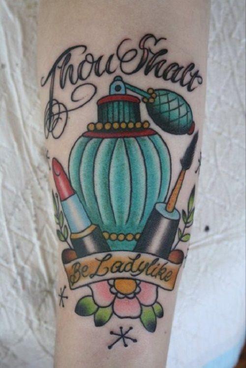 makeup artist tattoo ideas - photo #16
