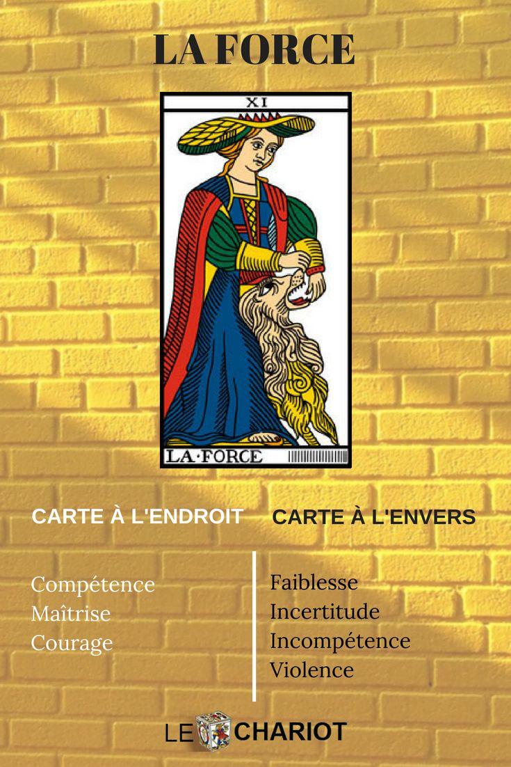 Le tarot de Marseille   Signification carte tarot, Tarot ...