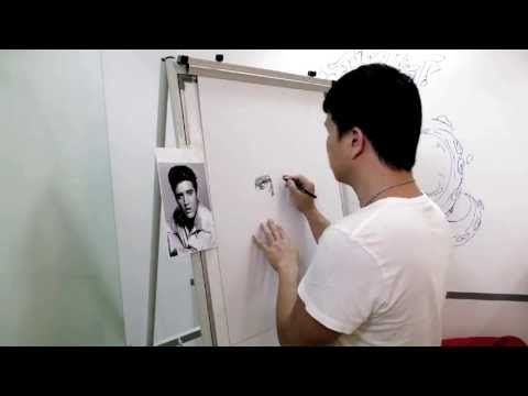 Vince Low : Finally i have make my 1st video on how i scribble my drawing with 0.4 & 0.6 art line pen on mounting board. Finish in one and a half hour time. ...