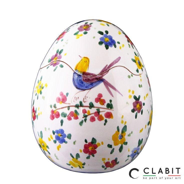 #Easter #Abruzzo #Pasqua #fioraccio #flowers #ceramic #handmade  #fiori #flowers #uccellini #birds