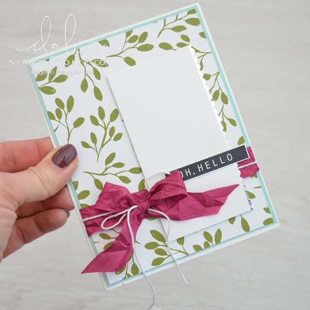 Making the most of your designer paper - Fancy Friday Blog Hop