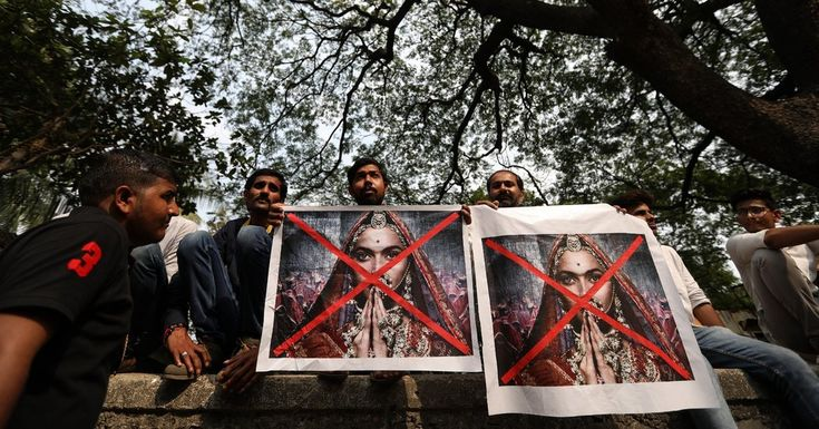 "Hindu extremists smashed up the film set, pulled the director's hair and threatened to behead the lead actress. ""Padmaavat,"" the most potentially explosive Indian film in years, opens Thursday."