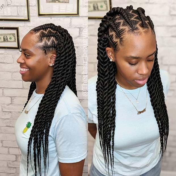 23 African Hair Braiding Styles We Re In 2020 African Hair Braiding Styles Hair Styles Braided Hairstyles Updo
