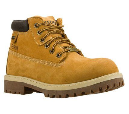 Skechers mens sergeants verdict lace-up boots - brown - 10.5 skechers £75.00