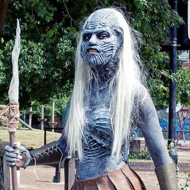 Pin for Later: 68 DIY Game of Thrones Costumes Perfect For Anyone Who Loves the Old Gods and the New White Walker