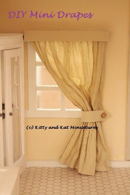 how to: easy drapes and blinds