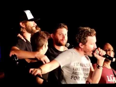 SPNPHX 2016: Purple Rain by Louden Swain and the cast of Supernatural - YouTube