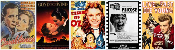 Cabideiro 5 ganchos médios tema cartazes de filmes antigos em painel MDF de 65 cm x 20 cm de altura.  Os ganchos não estão demonstrados nesta foto mas fazem parte do produto. Pode ser feito quadro decorativo.