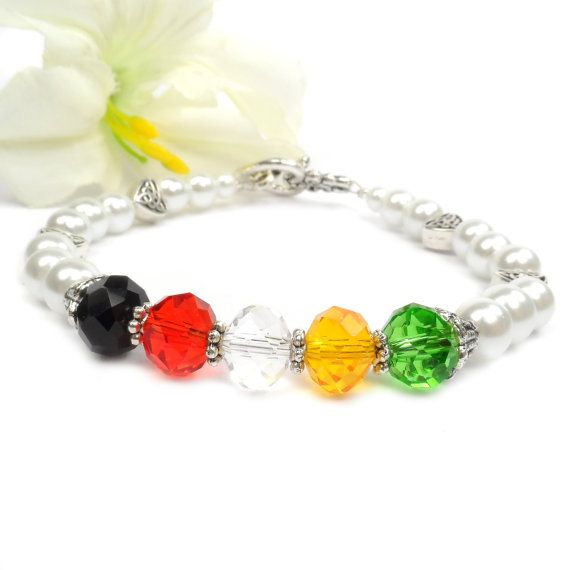 Christian Wordless Bracelet