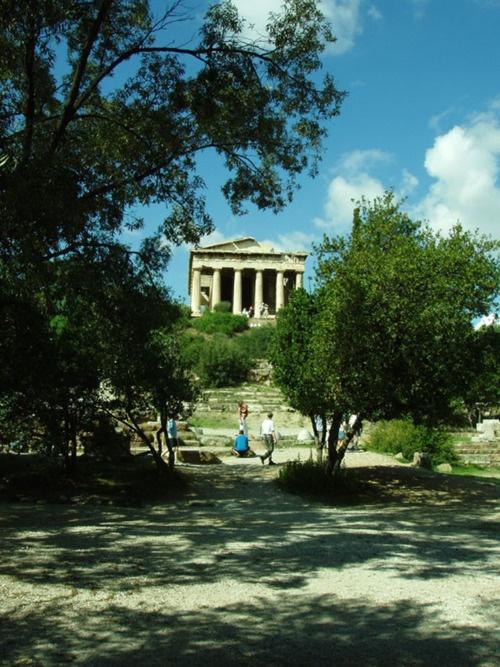 VISIT GREECE| Temple of Hephestus. #Athens #Greece