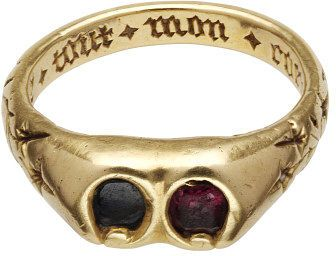 c. 1400 poesy ring, French or English, V Collection