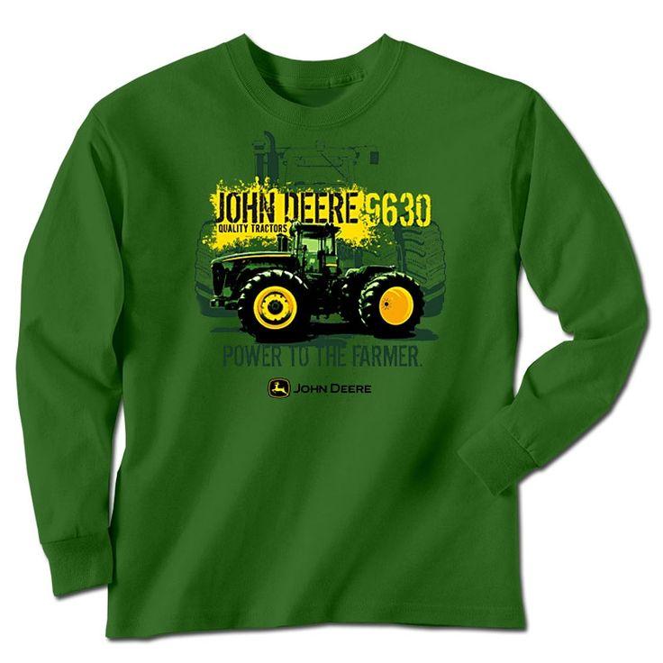 49 best images about john deere on pinterest shirts for for John deere shirts for kids
