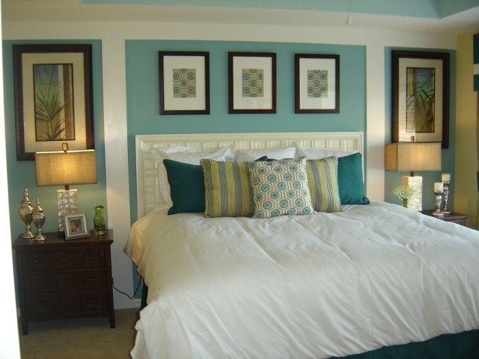 Atlanta Model Home-Master Bedroom