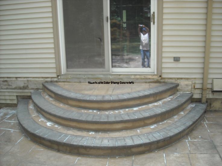 33 Best Images About Patio Steps On Pinterest