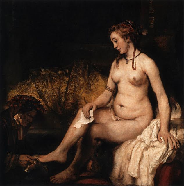 Η Βηθσαβεέ στο μπάνιο της (1654)