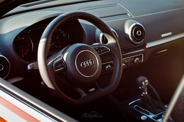Interior of the New Audi A3 S-Line