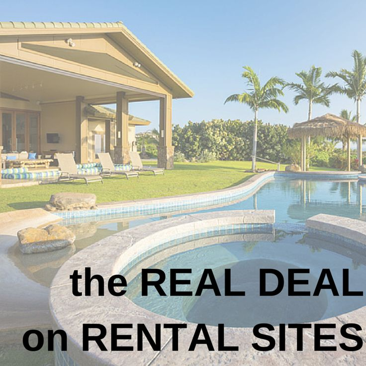 When something sounds too good to be true, it usually is. The real deal on #vacation rental sites: http://www.eaglecreek.com/blog/real-deal-rental-sites