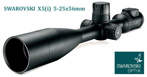 Leica 6.5-25x56mm LRS Scope Optics Swarovski