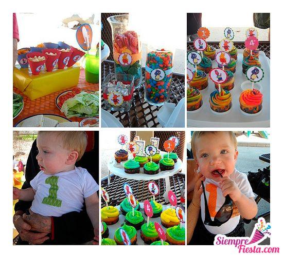 Ideas hermosas para una fiesta de cumpleaños con los Backyardigans. Encuentra todos los artículos para una fiesta con estos personajes en nuestra tienda en línea: http://www.siemprefiesta.com/fiestas-infantiles/ninos/articulos-backyardigans.html?limit=all&utm_source=Pinterest&utm_medium=Pin&utm_campaign=Backyardigans