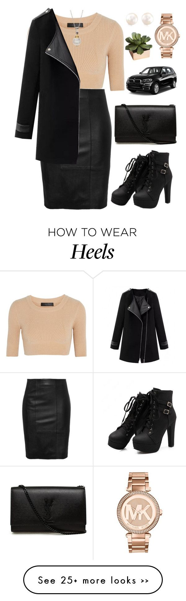 """FL (8/30/2015)"" by aneetaalex on Polyvore featuring Calvin Klein Collection, Yves Saint Laurent, Michael Kors, CB2 and BMW"