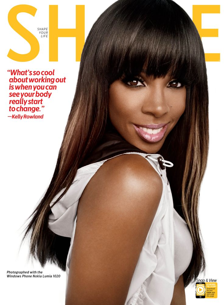 Check out SHAPE's special cover shoot with Kelly Rowland taken with the Windows Phone Nokia Lumia 1020.