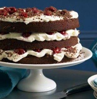 Nigella's black forest cake,