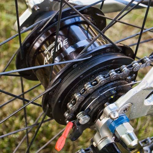 9e85c21a499 Shimano Alfine 11-Speed Internal Geared Hub | Cool Stuff | Speed bike, Gears,  Bicycle