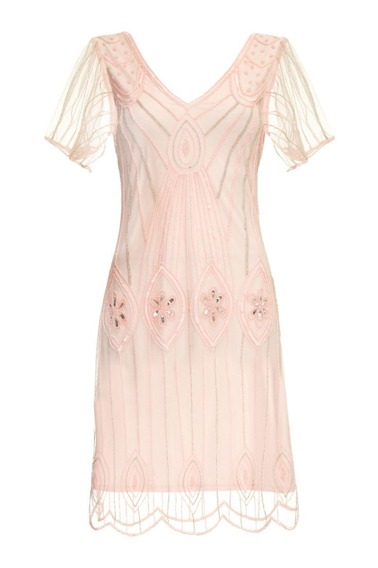 US24 UK28 AUS28 EU56 Art Deco Rosa Blush Plus Größe Kleid mit Ärmeln Vintage inspirierte 1920er Jahre Flapper Great Gatsby Downton Abbey Brautjungfer von Gatsbylady auf Etsy https://www.etsy.com/de/listing/267903986/us24-uk28-aus28-eu56-art-deco-rosa-blush
