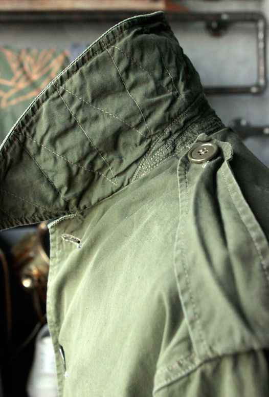 Deadstock Belgian Army Windproof Coat.