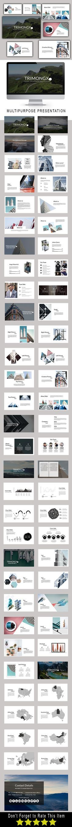 284 best PowerPoint Templates - Best images on Pinterest - powerpoint resume template