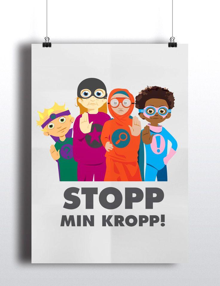 Stopp min kropp! Affisch
