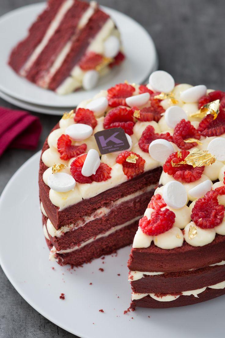 Red Velvet Cake: scopri come preparare la famosa torta americana con la ricetta del famoso pasticcere ERNST KNAM.  [Red Velvet Cake made by Ernst Knam]