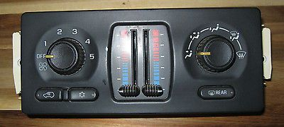 nice Trailblazer Envoy Heater AC Climate Control 15195333 Chevy GMC - For Sale View more at http://shipperscentral.com/wp/product/trailblazer-envoy-heater-ac-climate-control-15195333-chevy-gmc-for-sale/