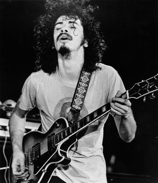 Carlos Santana, more sustain in a guitar than just about anyone ...