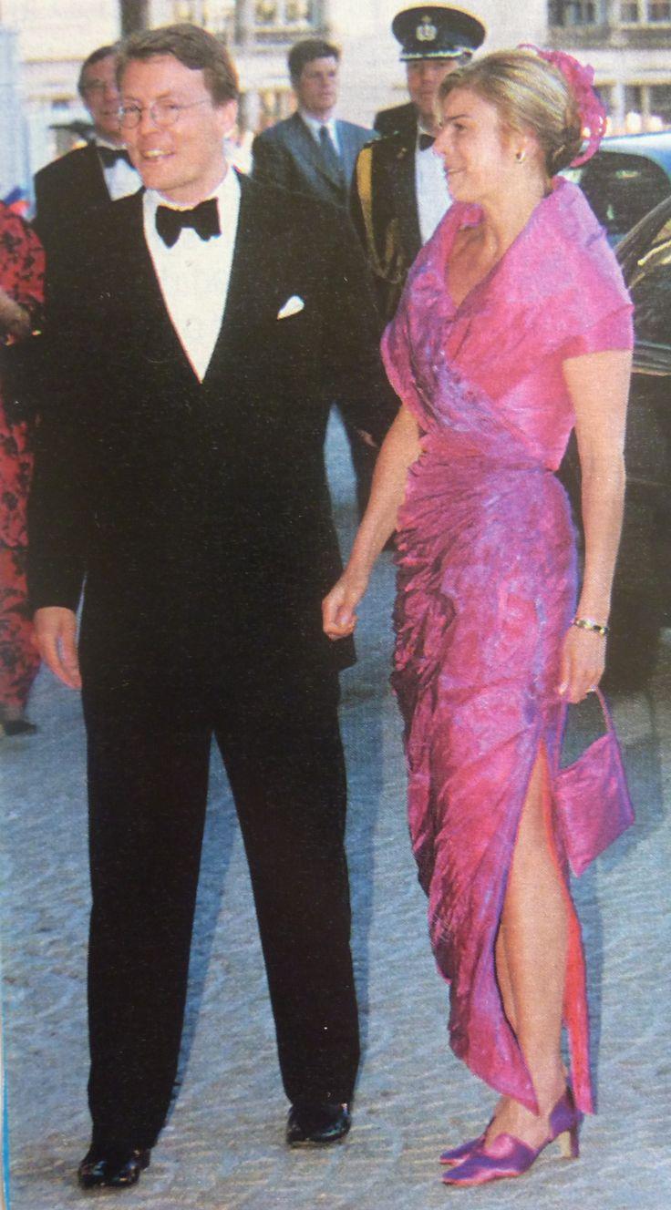 Constantijn en Laurentien festiviteiten voor hun huwelijk in 2001