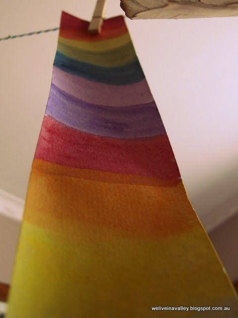 children's study in colour