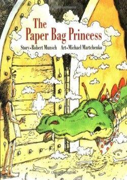 The Paper Bag Princess (Classic Munsch) - Robert Munsch (Hardcover) (1992) - imusic.dk