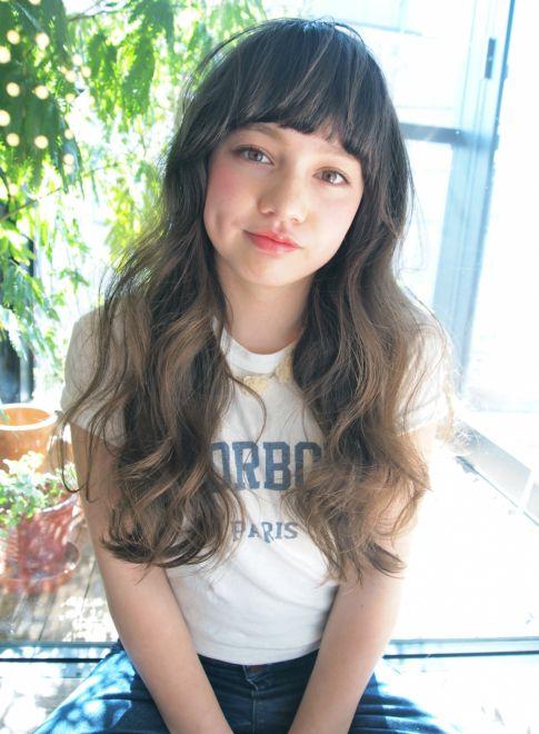 外国人風 / 70' アンニュイ ロング 【LOAVE AOYAMA】 http://beautynavi.woman.excite.co.jp/salon/26916 ≪ロング・ヘアスタイル・long・hairstyle≫