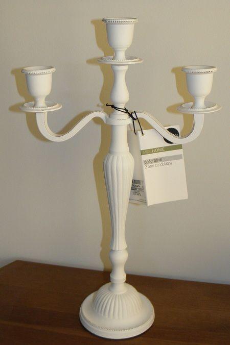 candelabra for the console table marks spencer. Black Bedroom Furniture Sets. Home Design Ideas