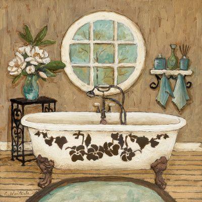 M s de 25 ideas incre bles sobre decoraci n para ba o - Laminas decorativas vintage ...