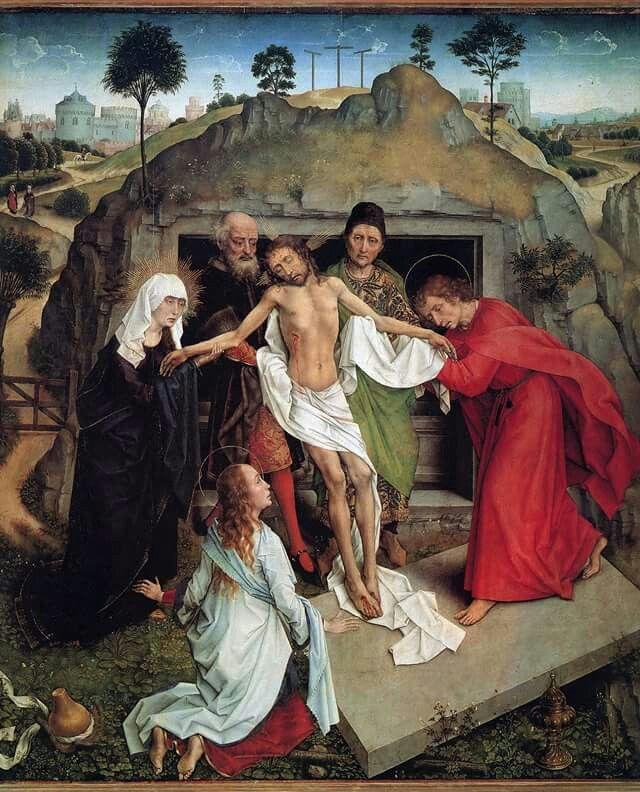 Deposizione , Rogier van der Weyden , Uffizi , Firenze