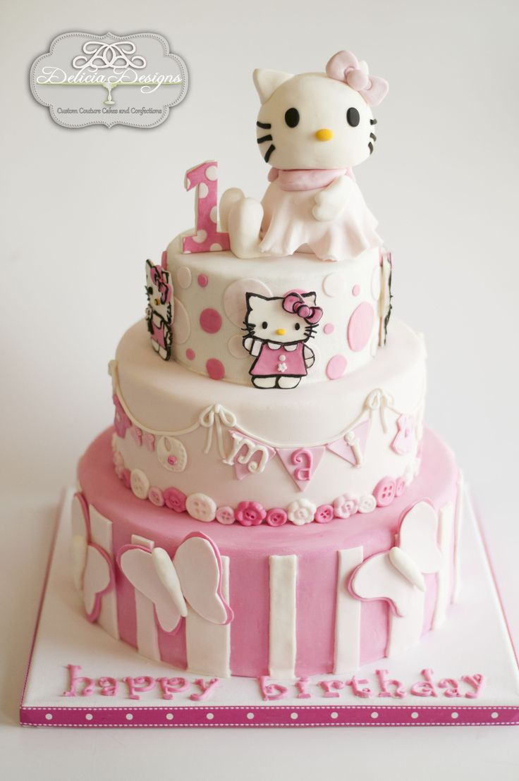 best 25 hello kitty cake design ideas on pinterest. Black Bedroom Furniture Sets. Home Design Ideas