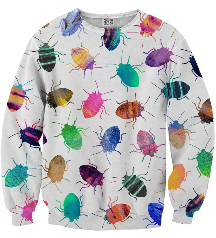Colofrul Cockroaches sweater, Mr. GUGU & Miss GO