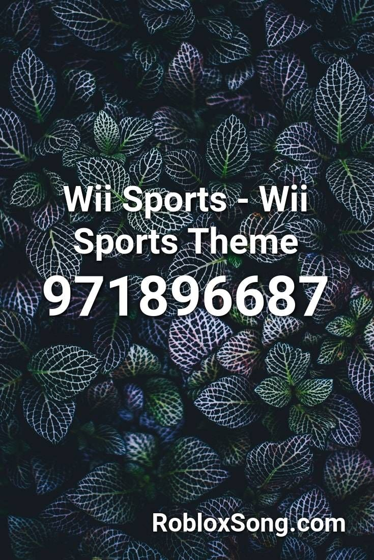 Wii Sports Wii Sports Theme Roblox Id Roblox Music Codes In