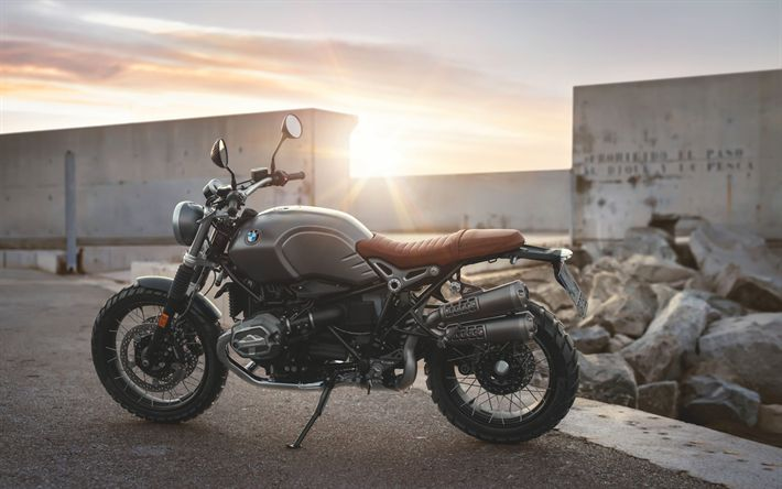 Download Wallpapers BMW R Nine T Pure, 4k, 2017 Bikes