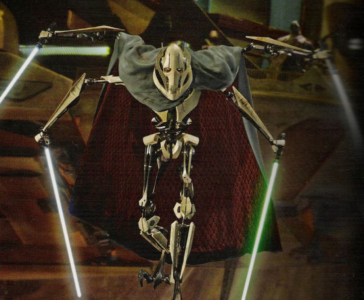 General Grievous [Qymaen jai Sheelal - Cyborg - General of the Separatists] - Star Wars III (Also in The Clone Wars)