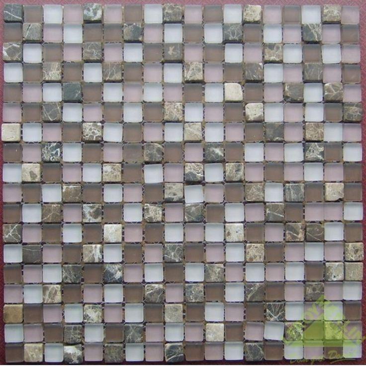 Мозаика стеклянная, коричневая, 301х301 мм (1шт.), Мозаика - Каталог Леруа Мерлен